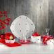 سرویس صبحانه خوری لاویوا مدل پونتو 28 پارچه رنگ قرمز