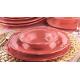 سرویس غذا خوری لاویوا طرح آنتیک 26 پارچه رنگ گلبهی