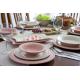سرویس غذا خوری لاویوا مدل پرسا 26 پارچه رنگ تلفیقی