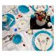سرویس لاویوا مدل ورا نیو 46 پارچه رنگ آبی