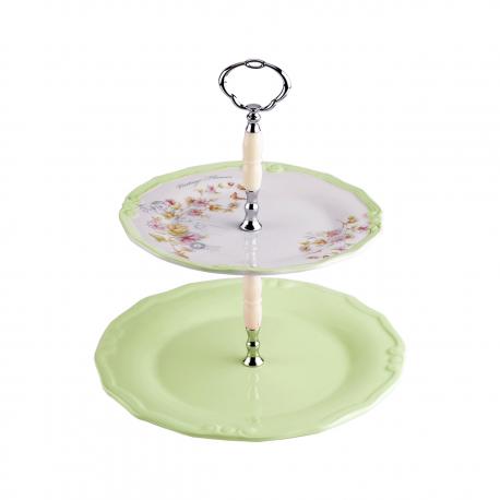 شیرینی خوری لاویوا مدل فلورا صورتی