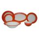 سرویس غذاخوری لاویوا طرح صدف 26 پارچه رنگ بنفش